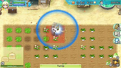 Rune Factory 4 Special Farming Fighting